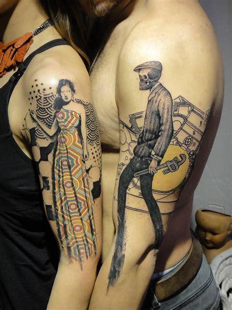 tattoo upper body designs graphic style upper arm tattoos tattoo artist 6 ink