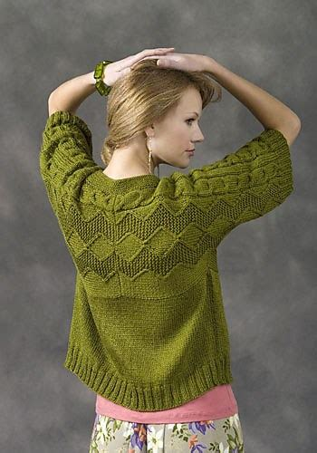 knit pattern short sleeve sweater short sleeve cardigan knitting patterns in the loop knitting