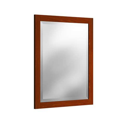 30 x 36 mirror bathroom glacier bay 30 in w x 36 in l beveled edge bath mirror