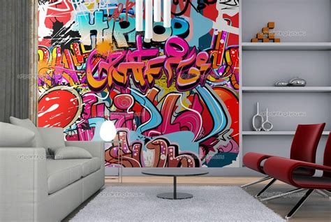 wall murals graffiti amp music canvas prints amp posters buy dc comics wall mural poster online poster plus