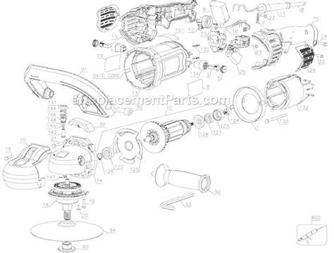 Dewalt 7 9 Vs Polisher Dwp849 Ereplacementparts Com