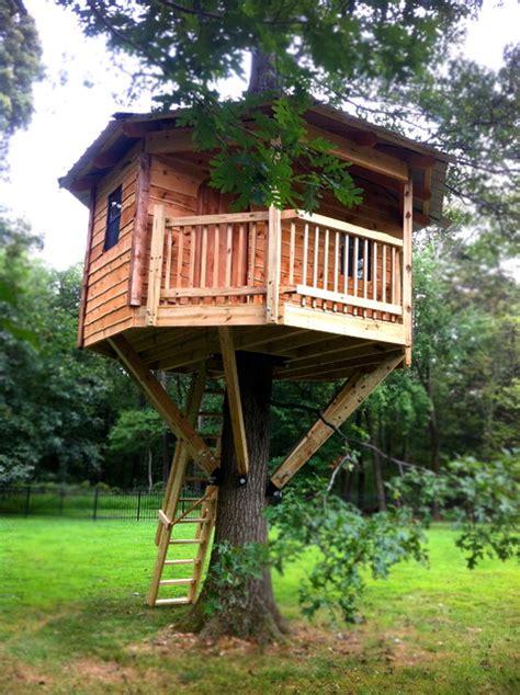 octagon cedar tree house