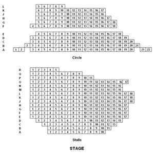seating plan leicester square theatre the ambassadors theatre west wc2h 9nd