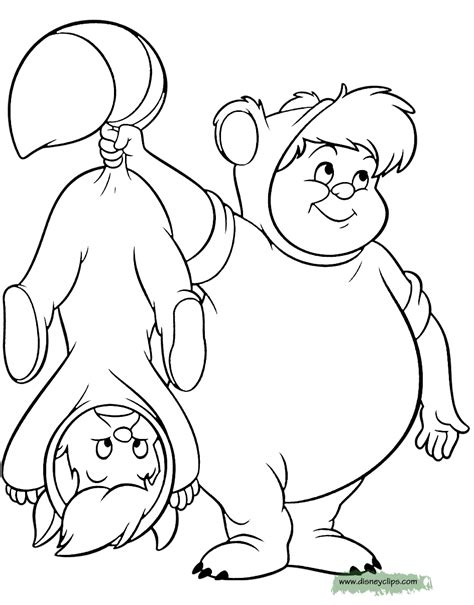 Peter Pan Tinker Bell Printable Coloring Pages Disney Pan Lost Boys Coloring Pages