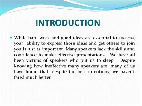 Work Is The Key To Success Essay In Language by Presentation Skills And Attire Key For Success