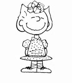 Sally free printable peanuts coloring pages