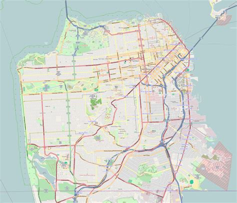 san francisco county map file location map san francisco county png wikimedia commons