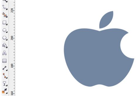 cara membuat logo apple cara membuat logo apel kroak dengan coreldraw belajar