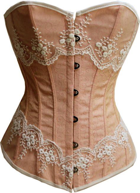 Handmade Corset - brocade fabric corset n7705