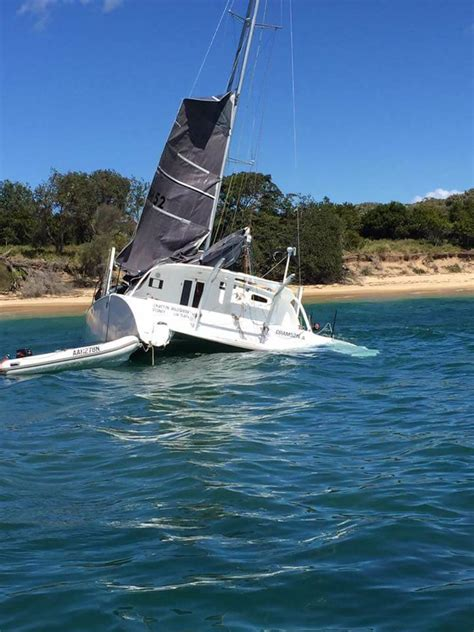catamarans for sale sydney large catamaran flips in sydney page 9 cruisers