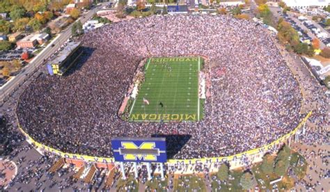 How Many Seats In The Big House 28 Images What It Takes To Get Michigan Stadium