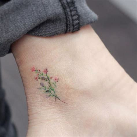 best 25 delicate flower tattoo ideas on pinterest