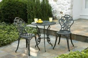 Black Wrought Iron Patio Furniture Sets Wrought Iron Furniture And Accessories Home Designs Project