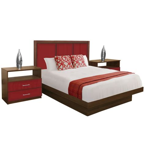 madison bedroom set madison queen size platform bedroom set 4 piece contempo
