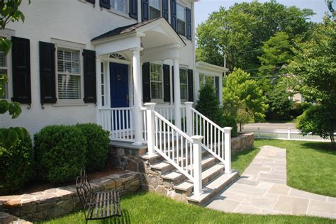 front porch addition colonial how front elevation can be