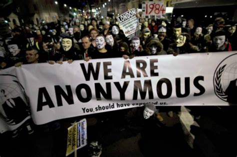 anonymous launches cyber attack against jihadist website in first we will hunt you down hacker group anonymous declares