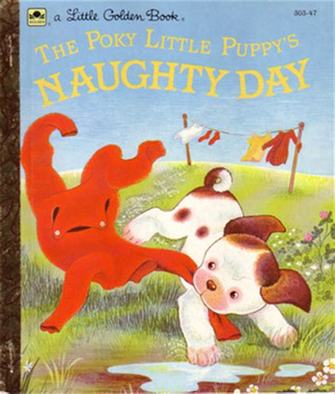 the poky puppy s day golden book by jean