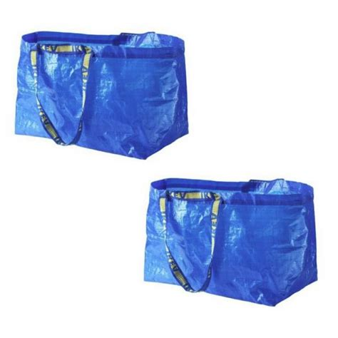 new ikea bag 2 ikea shopping bag new large reusable laundry tote