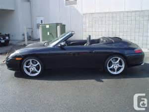 2002 Porsche 911 Cabriolet For Sale 2002 Porsche 911 Convertible Vancouver For Sale