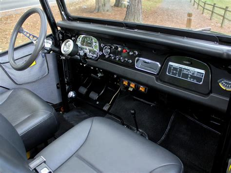icon fj40 interior 1970 toyota land cruiser fj 40 custom suv 138273