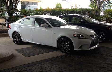 white lexus is 250 2014 my baby has arrived is250 f sport ultra white roja red