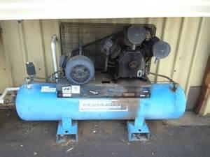 air compressor peerless air compressor 3 cylinder belt drive on horizon auction 0467