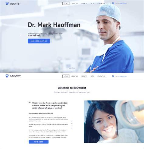 40 Dental Website Themes Templates Free Premium Templates Dentist Website Template