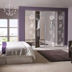 Wardrobe Designs With Mirror For Bedroom Bedroom Wardrobe Designs For Small Rooms With Mirror Photo 12