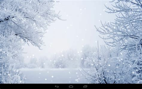 winter background powerpointhintergrund - Winter Wallpaper For Android