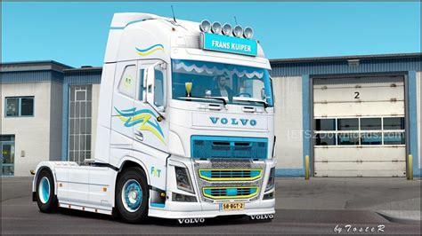 volvo truck trailer truck trailer volvo fh frans kuiper v1 0 ets 2 mods