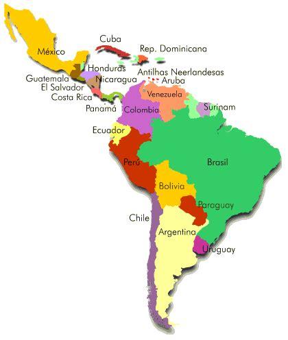 mapa america con division politica mapa de america politico nombres imagui