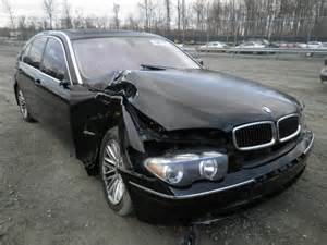 04 Bmw 745li Wbagn63414ds51526 Bidding Ended On 2004 Black Bmw 745li