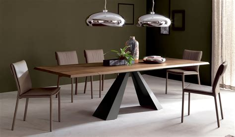 centro de mesa de comedor moderno mesa comedor extensible eliot cattelan en portobellostreet es