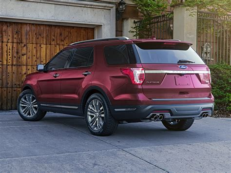 New 2018 Ford Explorer by New 2018 Ford Explorer Price Photos Reviews Safety