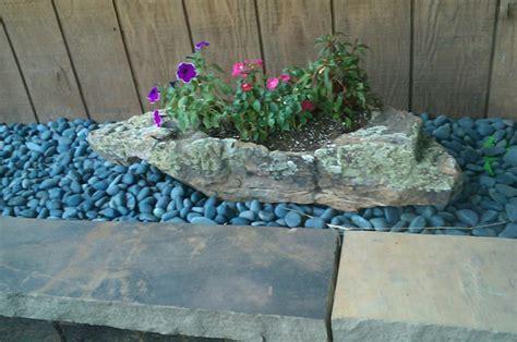 Rock Garden Planters Decorative Garden Rock River Rock Pebbles Pine S Co