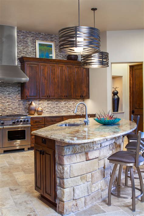stone kitchen island stone kitchen island kitchen transitional with beige cabinets beige counter beeyoutifullife com