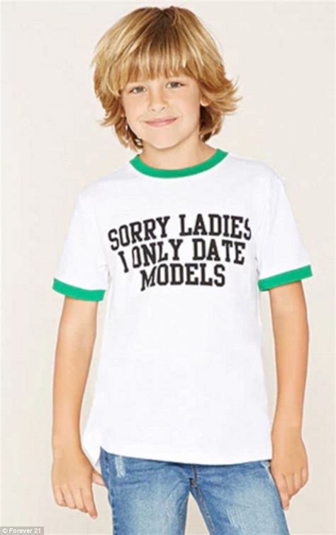 Dating Model by Forever 21 Slammed For Creepy And Inappropriate T