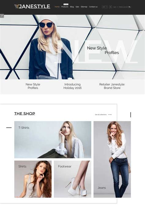 shopify themes clothing 15 best fashion store shopify themes 2016 designmaz