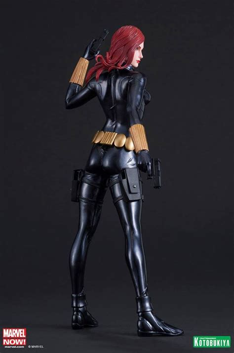 Black Widow Artfx Statue Kotobukiya Pvc buy toys and models marvel comics artfx pvc statue