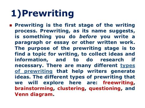 Essay On The Writing Process by Prewriting Activities For Persuasive Essays Writefiction581 Web Fc2