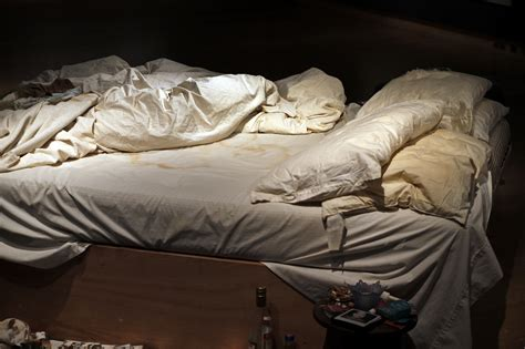 how to be dirty in bed artist tracey emin s messy bed sells for 4 4 million