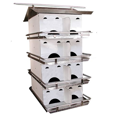buy purple martin house purple martin houses buy coates starling resistant 16 room martin house