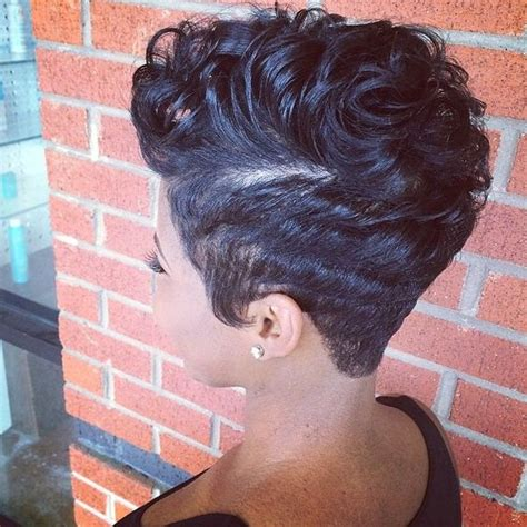 how to do freeze hair short hairstyles for black women freeze curls hollywood