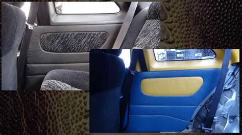 auto upholstery door panels hand sewing a car door panel auto upholstery youtube