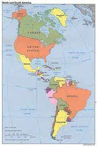 world map and south america maps of america and american countries