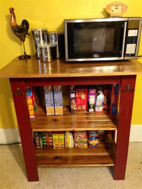 ana white console  microwave cart diy projects