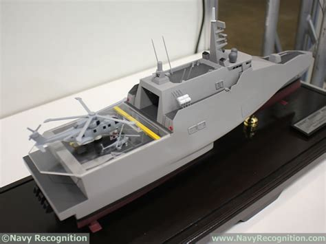 trimaran warship design mast asia 2017 japan s atla unveils future multi purpose