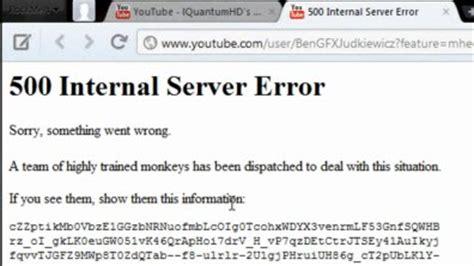how to fix youtube error by youtube error 404/500 code
