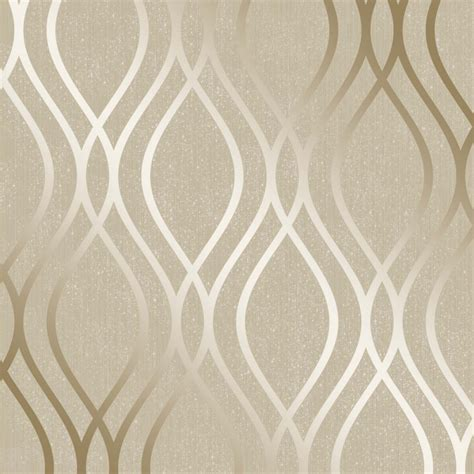 wallpaper interior henderson interiors camden wave wallpaper gold