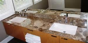 Paradiso marble vanity and backsplash with undermount sinks reverse